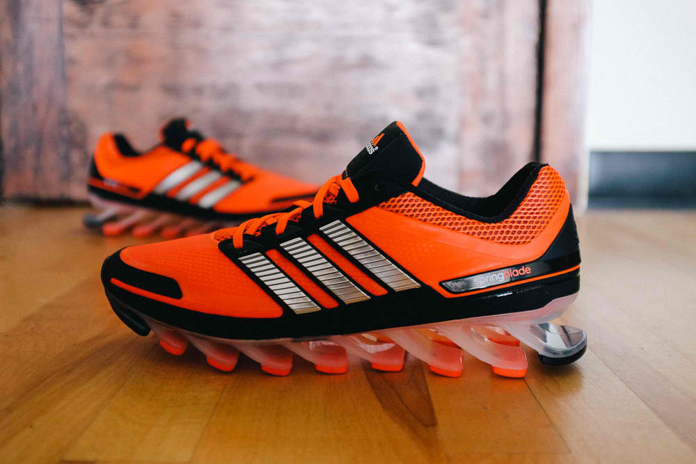 adidas Springblade: God knows I'm not big on shoes but I'm lusting for this one