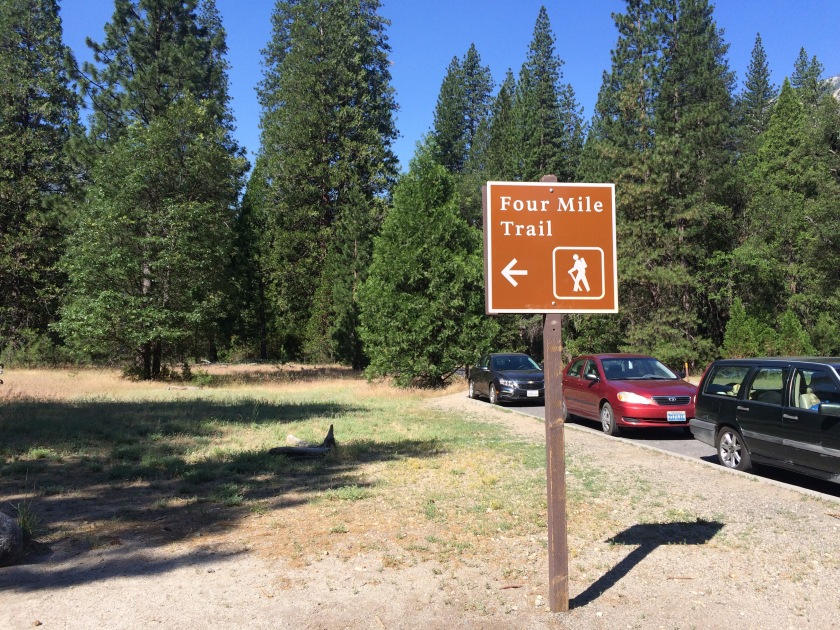 Four Mile Trailhead Yosemite