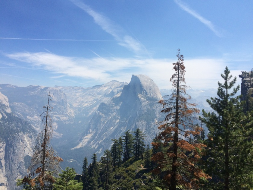 Half Dome from Panorama Trail